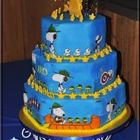 arrow of light cake pictures | Cub Scouts Blue and Gold Cake