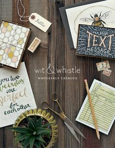 Wit & Whistle Wholesale Catalog