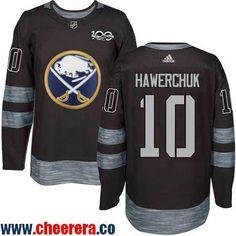 mens buffalo sabres 10 dale hawerchuk black 100th anniversary stitched nhl 2017 adidas hockey jersey