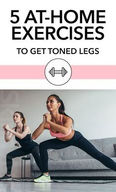 Our 5 At-Home Exercises To Get Toned Legs brings you sleek and slim results from the comfort of your home. You just need to clear up some space! Fun Workouts, At Home Workouts, Beginner Workouts, Toning Workouts, Fitness Workouts, Fitness Tips, Shoulder Workout At Home, Get Toned, Tips
