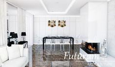 Jadalnia styl Glamour - zdjęcie od Futurum Architecture - Jadalnia - Styl Glamour - Futurum Architecture