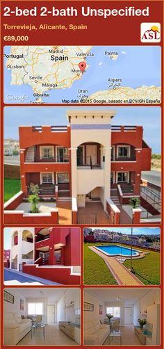 2-bed 2-bath Unspecified in Torrevieja, Alicante, Spain ►€89,000 #PropertyForSaleInSpain