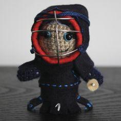 kendo amigurumi by black mambart
