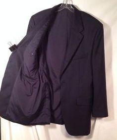 #LAUREN #RALPH #LAUREN #Mens #Wool 2-Button #Blazer #SportsCoat Navy #Size40L http://www.ebay.com/itm/331715888496