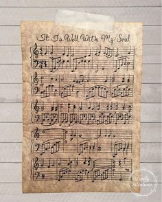 {Custom Hand-penned Sheet Music} Created from the heart and my love of music! ::Intro Price good for 1st week:: Each truly one-of-a-kind piece is made using calligraphy tip dipped in acrylic inkwell and carefully placed notes on hand finished parchment paper.  Perfectly imperfect variations should be expected as each piece is handmade to order.  Do you have a song or piece of music that touches your soul or that brings back memories the moment you hear it's tune?  From weddings to childhood…