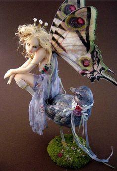 Fantasy | Whimsical | Strange | Mythical | Creative | Creatures | Dolls | Sculptures | JOANNA THOMAS                                                                                                                                                      More