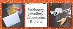 Monthly UK subscription box of exclusive stationery, jewellery, accessories and surprises. Subscription Gifts, Monthly Subscription Boxes, Box Uk, Mystery Box, Free Delivery, Stationery, Make It Yourself, Jewellery, How To Make