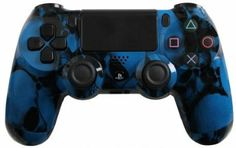 Amazon.com: Custom PlayStation 4 Controller Special Edition Blue Skullz Controller: Video Games #customcontroller #customps4controller #dualshock4 #ps4controller