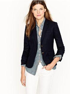 J. Crew Schoolboy blazer .. Still want this blazer!