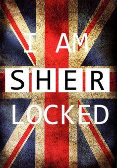 Sherlock I am sherlocked Irene Adler Phone Art by geeksleeksheek