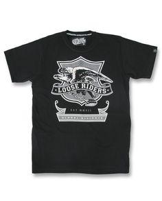 Loose Riders T-Shirts Eagle Tattoo,Biker,Oldschool,Rockabilly,Custom Styles