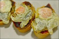 entrantes para la cena - huevos de codorniz