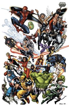 #Marvel #Fan #Art. (Marvel NOW!) By: Ed McGuinness. (THE * 5 * STÅR * ÅWARD * OF * MAJOR ÅWESOMENESS!!!™)[THANK U 4 PINNING!!!<·><]<©>ÅÅÅ+(OB4E)