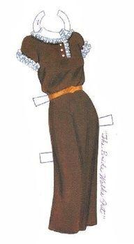 Barbara Stanwyck paper doll / googlesearch.com