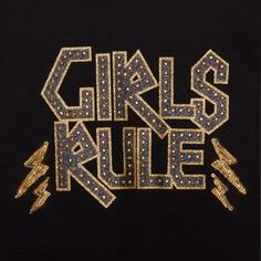 This t-shirt from bluezoo's fantastic range is a super-stylish choice for a girl's wardrobe. Made from a soft cotton blend, it features a mesh hem and 'Girls rule' slogan that sparkles with sequin embellishments.