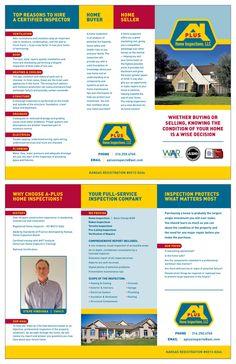 A PLUS BROCHURE       Designer: Chris M. Moore       Client: A Plus Home Inspections, LLC
