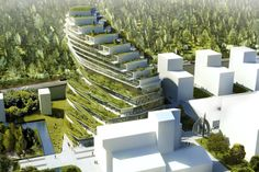 Green School Stockholm designed by 3XN Architects is a new type of school with a modern approach to sustainable living