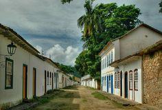 Wonderful Places, Brazil, Explore, Landscapes, Paraty, Rio De Janeiro, City, World, Street