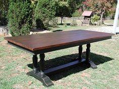 Axeville Trestle Table