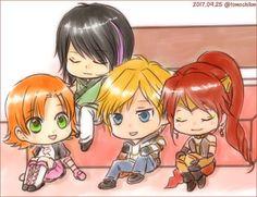 Team Jnpr, Team Rwby, Neon Katt, Rwby Characters, Anime Kiss, I Icon, Me Me Me Anime, Chibi, Pokemon