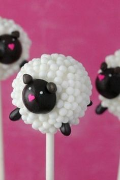 A bashful sheep cake pop, a Cookie Monster cupcake, and more of the cutest culinary confections. bit.ly/Knj9X1
