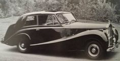 Two-door Saloon by Hooper (chassis STH73)