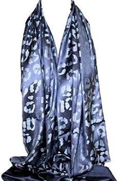 Bullahshah - Foulard Écharpe Étole Châle Hijab Tête Imprimé Floral Soie  Satin Élégant Large - 86 x 26 cm, Bleu Marine  Amazon.fr  Vêtements et  accessoires 4f362a2a8e8