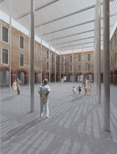 David Chipperfield Architects · M9 - Nuovo polo culturale a Venezia-Mestre