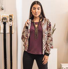 #blusa #bomber #animalprint #inverno #2017 #modafeminina #moda #fashion