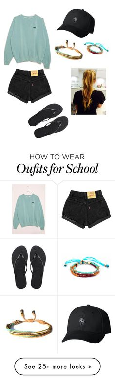 """School"" by christinaabug on Polyvore featuring Havaianas"