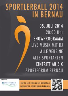 Sportlerball & Sportlergala in Bernau bei Berlin