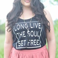 Long Live the Soul Set Free Tank or Tee at Freecitizenco.com/shop