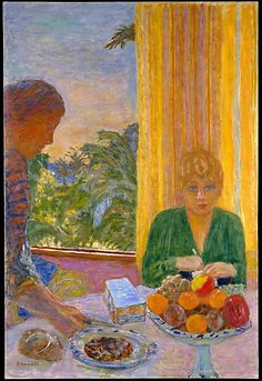 Bonnard. The green blouse