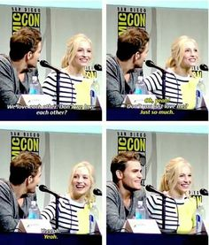 tvd - paul wesley and candice accola Vampire Diaries Cast, Vampire Diaries The Originals, Paul Wesley Tattoo, Stefan E Caroline, Kol And Davina, Bonnie And Enzo, Candice King, Candice Accola, Tv Show Quotes