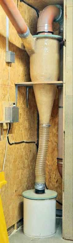 Dust Collector Upgrade - Dust Collection Tips, Jigs and Fixtures | WoodArchivist.com