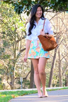 How to buy Lilly Pulitzer on a budget - how to style lilly pulitzer - spring outfit inspo