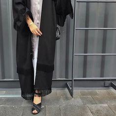 @noufaltamiimi tassled abayas /Amaliah.co.uk