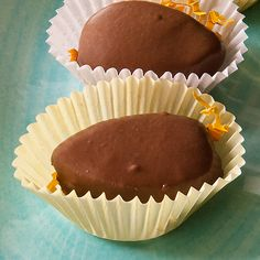 Homemade Peanut Butter Easter Eggs...