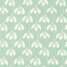 Scion Garden of Eden Snowdrop Sage Green Wallpaper 112801   Untouchables Wallpapers, Wall Murals and Paints