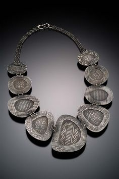 posted to Metal Clay Now by Terry Kovalcik Contemporary Jewellery, Modern Jewelry, Jewelry Art, Jewelry Design, Jewelry Necklaces, Ethnic Jewelry, Bracelets, Metal Clay Jewelry, Ceramic Jewelry