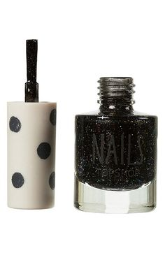 Topshop Glitter Nail Lacquer 'Gypsy Night' | Nordstrom