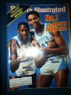 Michael Jordan Sports Illustrated 1983
