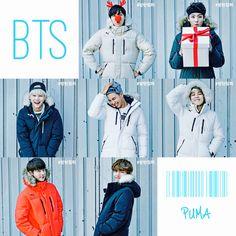 BTS X PUMA