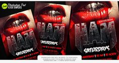 Free Halloween Flyer Template | Free Halloween poster | Halloween Flyer | Sickflyers.com