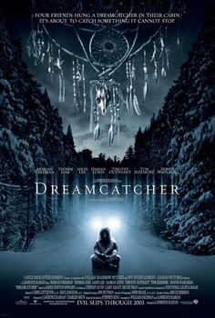 dreamcatcher - stephen king, great book and a pretty good movie as well. Which is so rare for King books.