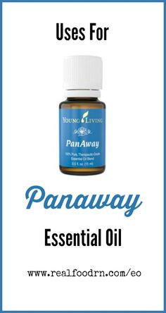 Uses for PanAway Essential Oil. One of the best oils on the market for the active person, or anyone who experiences occasional soreness. I always have this one around. My runner feet love this so much! realfoodrn.com #panaway #essentialoils