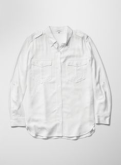TALULA HILLHURST BLOUSE - Take things to a utilitarian place with an oversized button-up