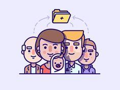 Family illustration (Medical)