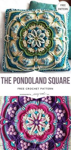 The Pondoland Square Free Crochet Pattern on Easywool.com #freecrochetPatterns #afghan #freecrochetPatternsforafghan #freecrochetPatternsforblanket #crochetstitch #crochet #crochetfreepatternsforhome #crochetfreepatternsforsquare #crochetsquare #apachetears #nomadsquare #freecrochetPatterns #afghan #freecrochetPatternsforafghan #freecrochetPatternsforblanket #crochetstitch #crochet #crochetfreepatternsforhome