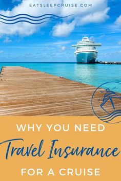 Wait, you don't purchase travel insurance? Then you need to read our top 6 reasons to get travel insurance for a cruise. Always ensure you are prepared. Packing List For Cruise, Cruise Tips, Cruise Travel, Cruise Vacation, Cruise Excursions, Cruise Destinations, Travel Insurance Companies, Life Insurance, Panama Cruise